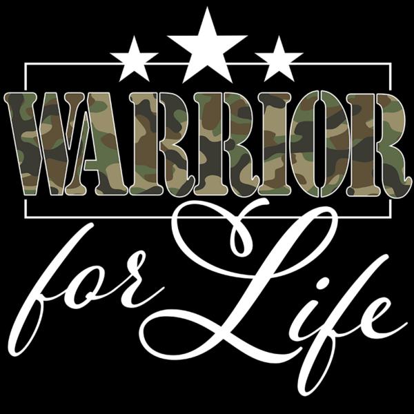 warrior for life closup